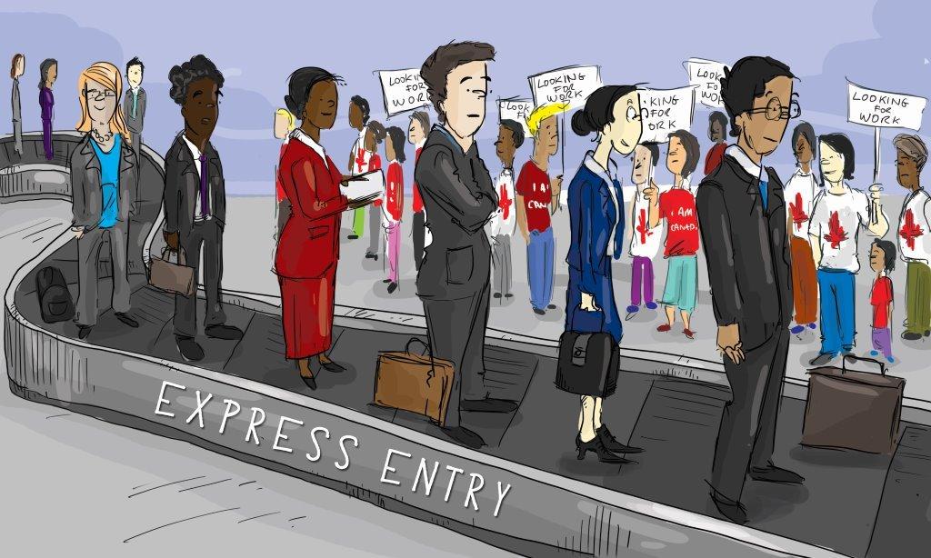 Express-Entry-3 Relatório completo sobre a Admissão no Express Entry até o momento Relatório completo sobre a Admissão no Express Entry até o momento Express Entry 3
