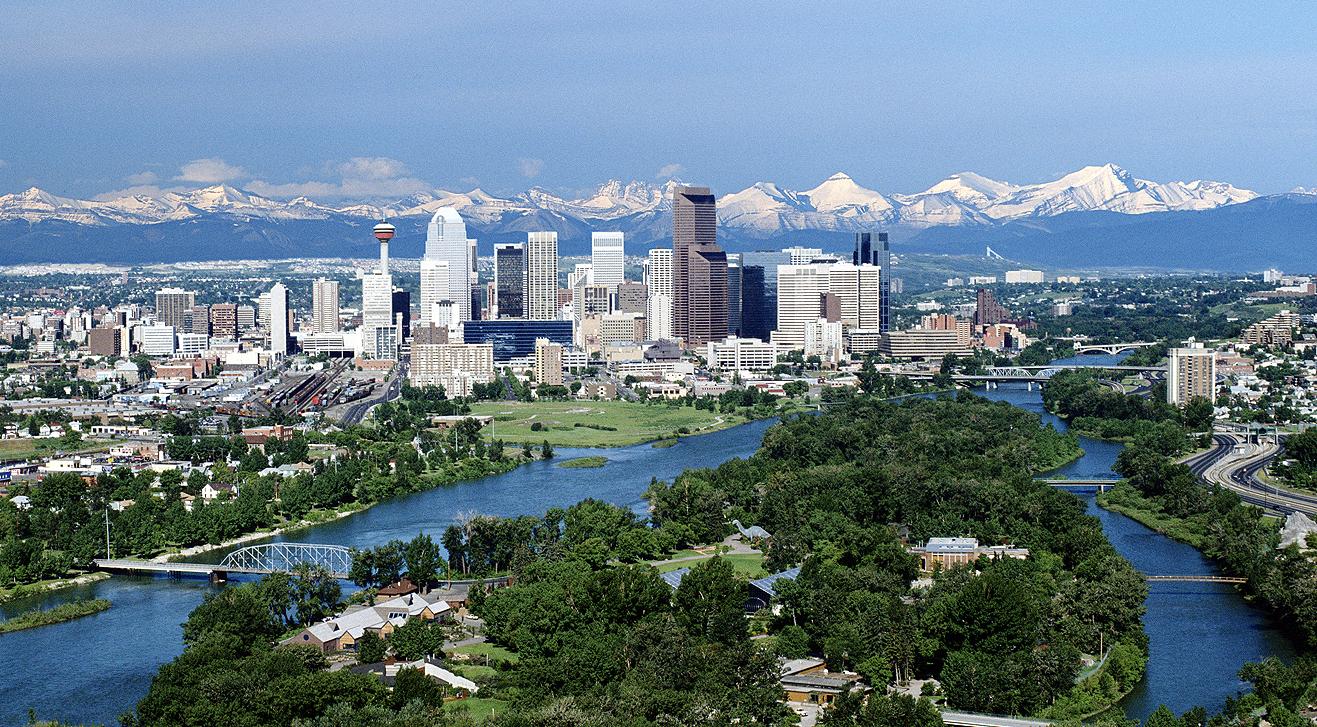 CalgarySkyline  Alberta reabre o seu programa de imigração provincial para o Canadá CalgarySkyline