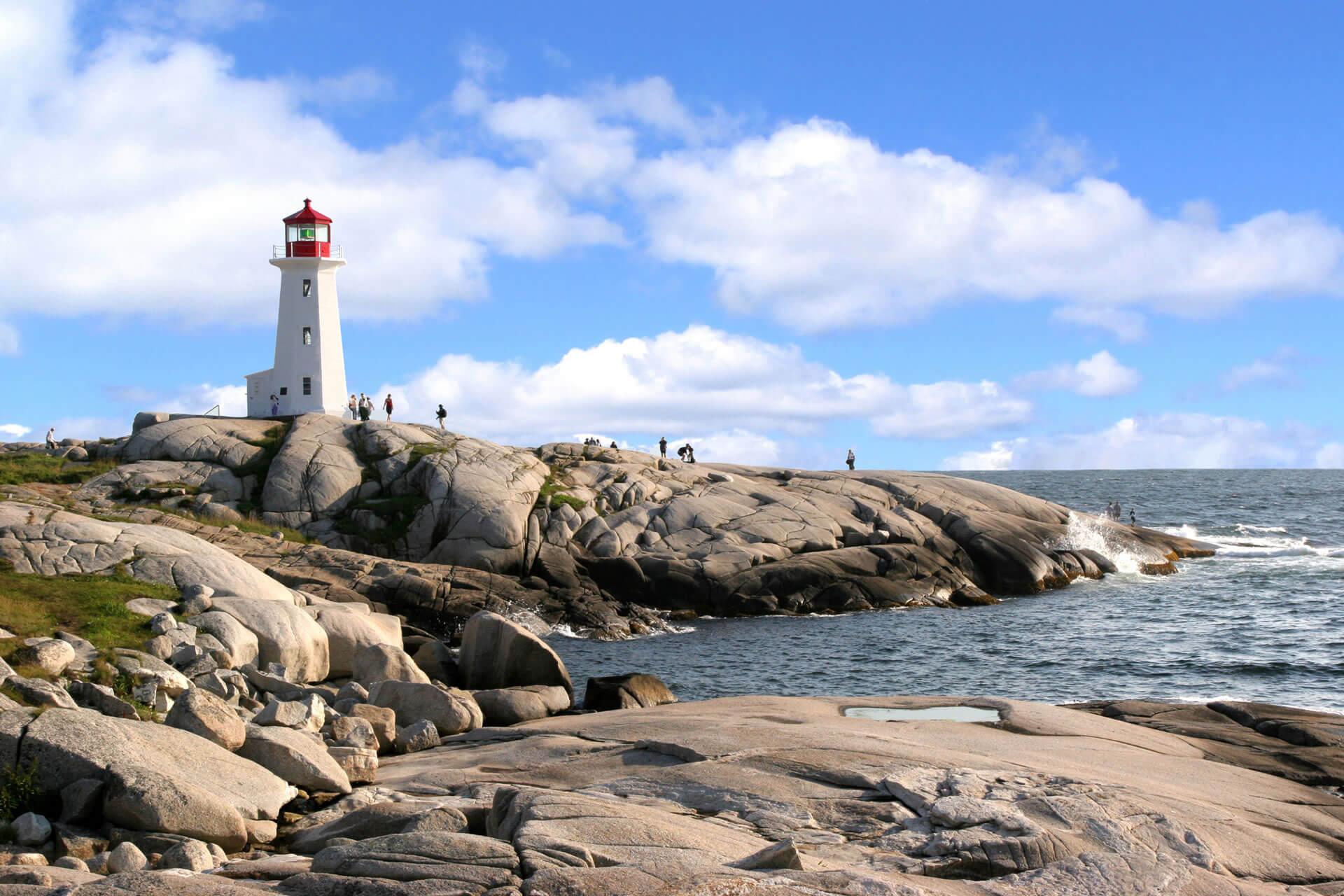 Peggys-Cove-Nova-Scotia-Canada-2  Governo Federal anuncia novo programa de imigração para a Costa Atlântica do Canadá Peggys Cove Nova Scotia Canada 2