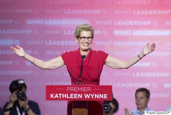Kathleen Wynne  Maioria dos Canadenses acreditam que um Primeiro-Ministro Gay poderá ser eleito em 10 anos o KATHLEEN WYNNE 570