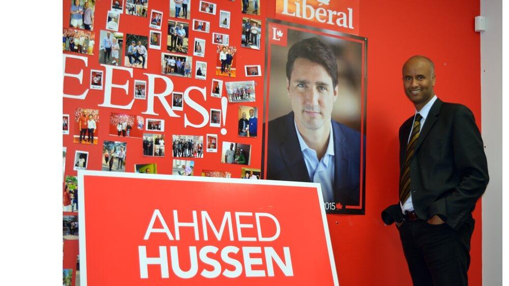 De refugiado a Ministro de Imigração do Canadá: A história de Ahmed Hussen 56a06257f8774470ad14c97bb77afba8 18