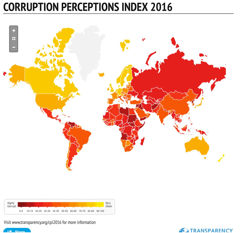 Canadá é um dos países com a melhor pontuação na luta contra a corrupção Screenshot 2017 01 26 21