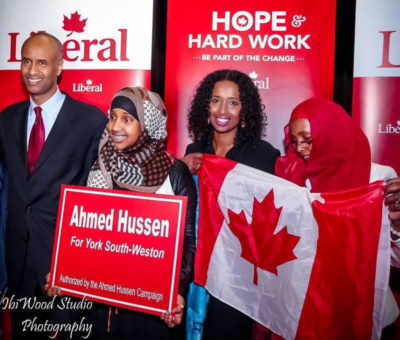 De refugiado a Ministro de Imigração do Canadá: A história de Ahmed Hussen linr ahmed